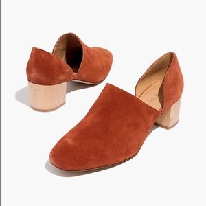 Madewell kristie d'orsay bootie size 9.5